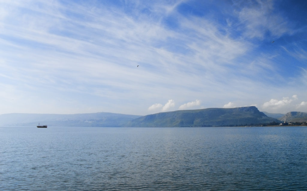 Sea of Galilee Our holy testament